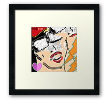 heavy hitters and golden slippers, losers winners moonbeams and ashcan heroes 7 Framed Print