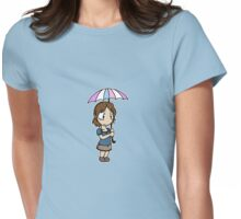 RAIN - Chibi Heather Womens Fitted T-Shirt