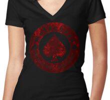 lemmy kilmister Women's Fitted V-Neck T-Shirt