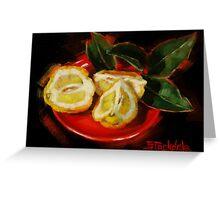 Bush Lemon Sliced Greeting Card
