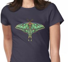 Spanish Moon Moth Womens Fitted T-Shirt