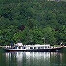 Steam Yacht Gondola, Coniston Water, Lake District National Park, Cumbria, UK by Philip Mitchell