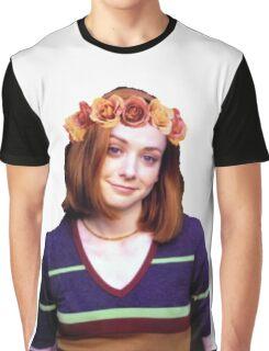 Willow Rosenberg - Flower Crown Graphic T-Shirt