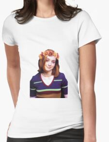 Willow Rosenberg - Flower Crown Womens Fitted T-Shirt