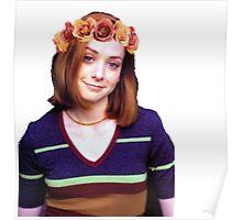 Willow Rosenberg - Flower Crown Poster