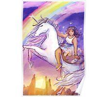 Unicorn Princess Ceres Poster