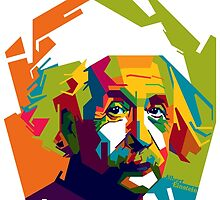 "WPAP - ""Albert Einstein"" by hwart"