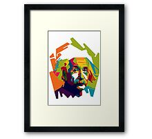 "WPAP - ""Albert Einstein"" Framed Print"