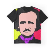 Edgar Allan Poe (Pop-Art) Graphic T-Shirt