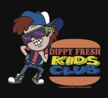 Dippy Fresh Kids Club  Baby Tee