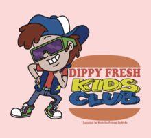 Dippy Fresh Kids Club  Kids Tee