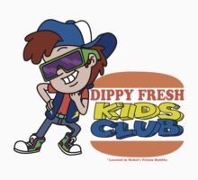 Dippy Fresh Kids Club  One Piece - Short Sleeve