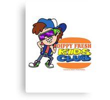 Dippy Fresh Kids Club  Canvas Print