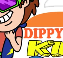 Dippy Fresh Kids Club  Sticker