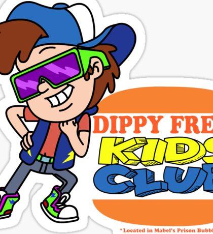 Dippy Fresh Kids Club  Sticker
