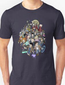 DOCTOR WHOZZAT? BLOCKY Unisex T-Shirt