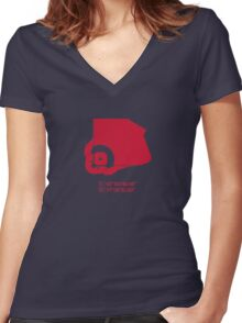 Fenway Park - Find Your Way Home Women's Fitted V-Neck T-Shirt
