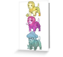 KURT RUSSELL TERRIER Greeting Card