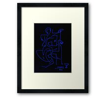 After Picasso - Dos Framed Print