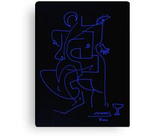 After Picasso - Dos Canvas Print