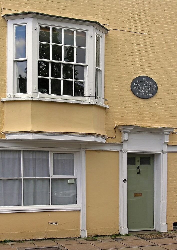 Jane Austen's last residence: No 8, College Street, Winchester, England by Philip Mitchell