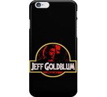 JURASSIC GOLDBLUM iPhone Case/Skin
