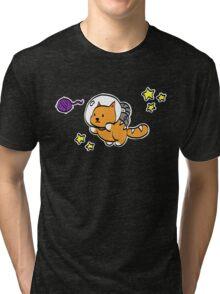 Cosmic Kitten Tri-blend T-Shirt