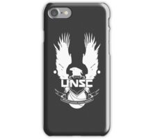 UNSC Infinite Gaming Space Command - White iPhone Case/Skin