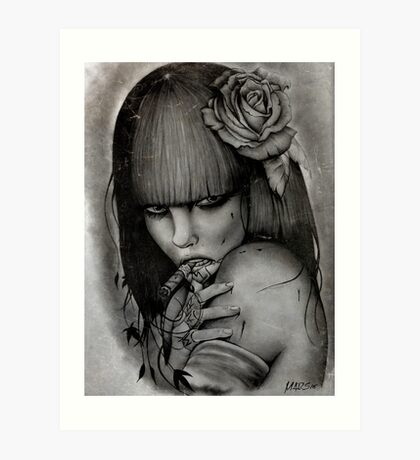 WidowMaker Art Print