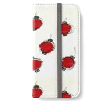 Festival of Lights Ink Pattern iPhone Wallet/Case/Skin