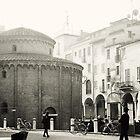 Rotonda di San Lorenzo in Mantova, Italy B&W by prante