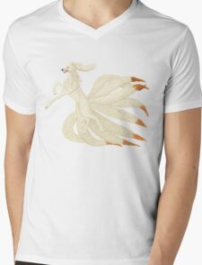 Realistic Ninetales Mens V-Neck T-Shirt