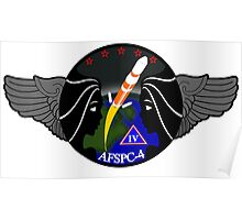 AFSPC-4 Program Logo Poster