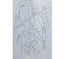 After Picasso - Tres Photographic Print