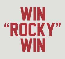 Win Rocky Win by tvmovietvshirt
