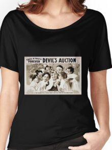 Performing Arts Posters Chas H Yales forever Devils auction 1070 Women's Relaxed Fit T-Shirt