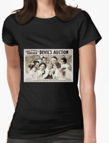 Performing Arts Posters Chas H Yales forever Devils auction 1070 Womens Fitted T-Shirt