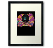 Rudy - The Mighty Boosh - Rudi van DiSarzio - Psychedelic Monk Framed Print