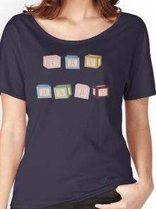 CRY BABY BLOCKS Women's Relaxed Fit T-Shirt