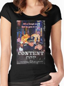 Content Cop - The Movie Women's Fitted Scoop T-Shirt