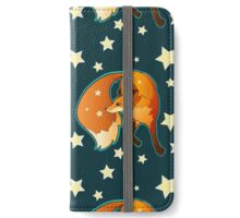 Fox Dancing in the Stars iPhone Wallet/Case/Skin