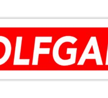 Odd Future WolfGang Sticker