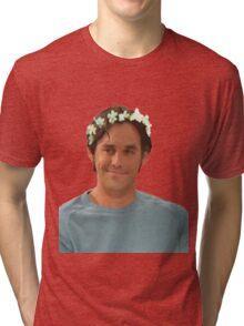 Xander Harris - Flower Crown Tri-blend T-Shirt