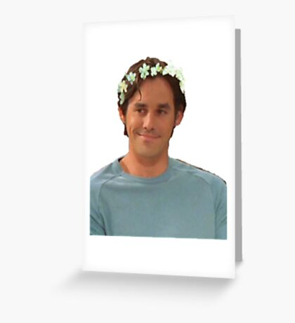 Xander Harris - Flower Crown Greeting Card