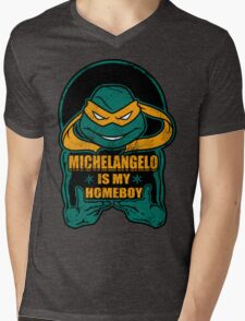 Mike is my Homeboy Mens V-Neck T-Shirt