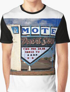 Route 66 - Desert Skies Motel Graphic T-Shirt