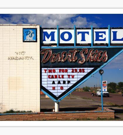 Route 66 - Desert Skies Motel Sticker