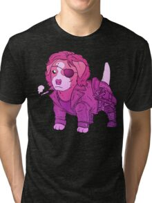 KURT RUSSELL TERRIER - ESCAPE FROM NEW YORK Tri-blend T-Shirt