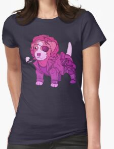 KURT RUSSELL TERRIER - ESCAPE FROM NEW YORK Womens Fitted T-Shirt