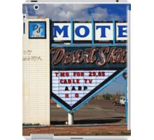 Route 66 - Desert Skies Motel iPad Case/Skin